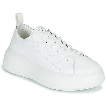 Schuhe Damen Sneaker Low Armani Exchange XCC64-XDX043 Weiss