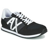 Schuhe Herren Sneaker Low Armani Exchange XCC68-XUX017 Schwarz