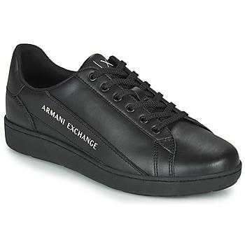 Schuhe Herren Sneaker Low Armani Exchange XV262-XUX082 Schwarz