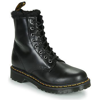 Schuhe Damen Boots Dr Martens 1460 SERENA Schwarz
