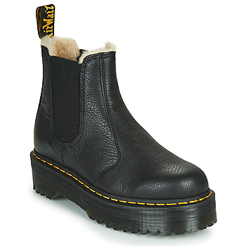 Schuhe Damen Boots Dr Martens 2976 QUAD FL Schwarz