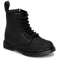 Schuhe Kinder Boots Dr Martens 1460 SERENA MONO J Schwarz