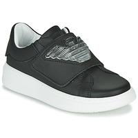 Schuhe Kinder Sneaker Low Emporio Armani XYX014-XOI08 Schwarz