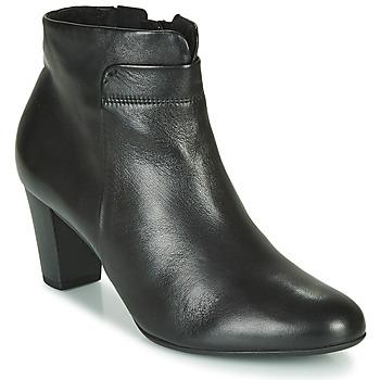 Schuhe Damen Low Boots Gabor 5296157 Schwarz