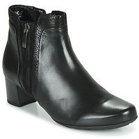 Schuhe Damen Low Boots Gabor 5282857 Schwarz