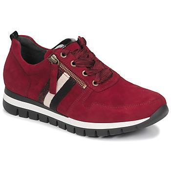 Schuhe Damen Sneaker Low Gabor 5643538 Rot