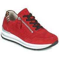 Schuhe Damen Sneaker Low Gabor 5652838 Rot