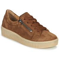 Schuhe Damen Sneaker Low Gabor 5333412 Camel