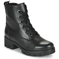 Schuhe Damen Low Boots Gabor 5171137 Schwarz