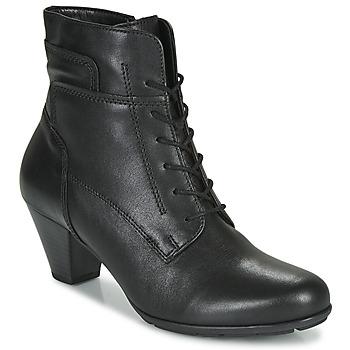 Schuhe Damen Low Boots Gabor 5564427 Schwarz