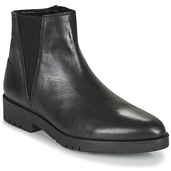 Schuhe Damen Low Boots Gabor 5658157 Schwarz