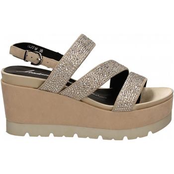 Schuhe Damen Sandalen / Sandaletten Luciano Barachini CAMOSCIO naturale