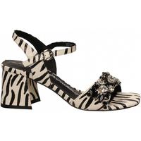 Schuhe Damen Sandalen / Sandaletten Luciano Barachini WIPS zebra