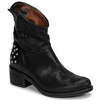 Schuhe Damen Boots Airstep / A.S.98 OPEA STUDS Schwarz