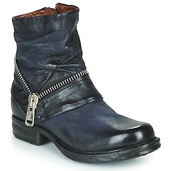 Schuhe Damen Boots Airstep / A.S.98 SAINT EC ZIP NEW Blau