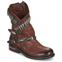 Schuhe Damen Boots Airstep / A.S.98 TIAL FOGLIE Braun