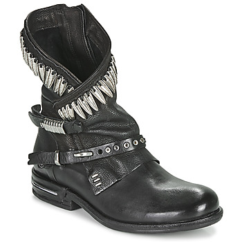 Schuhe Damen Boots Airstep / A.S.98 TIAL FOGLIE Schwarz