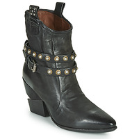 Schuhe Damen Low Boots Airstep / A.S.98 TINGET BUCKLE Schwarz