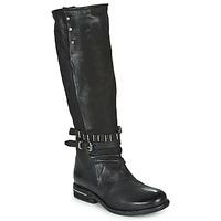 Schuhe Damen Klassische Stiefel Airstep / A.S.98 TEAL HIGH Schwarz
