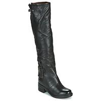 Schuhe Damen Klassische Stiefel Airstep / A.S.98 NOVA 17 HIGH Schwarz