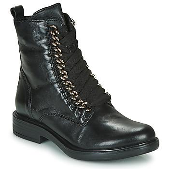 Schuhe Damen Boots Mjus CAFE CHAIN Schwarz