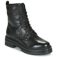 Schuhe Damen Boots Mjus DOBLE LACE Schwarz