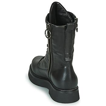 Mjus TRIPLE ZIP Schwarz - Kostenloser Versand |  - Schuhe Boots Damen 14900