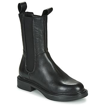 Schuhe Damen Boots Mjus MORGANA CHELS Schwarz