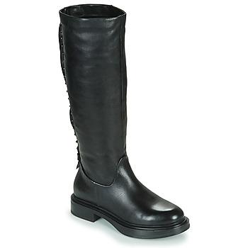 Schuhe Damen Klassische Stiefel Mjus MORGANA HIGH Schwarz