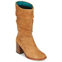 Schuhe Damen Klassische Stiefel Mjus TUA Beige