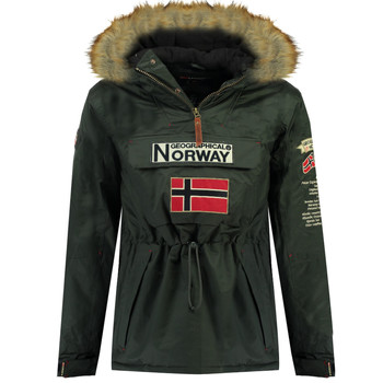 Kleidung Jungen Parkas Geographical Norway BARMAN BOY Grau