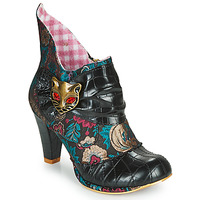Schuhe Damen Low Boots Irregular Choice MIAOW Schwarz