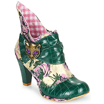 Schuhe Damen Low Boots Irregular Choice MIAOW Grün