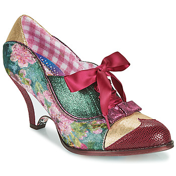 Schuhe Damen Pumps Irregular Choice FORCE OF BEAUTY Bordeaux / Grün