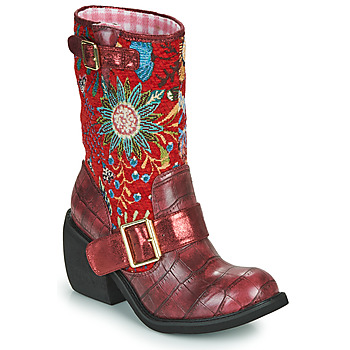 Schuhe Damen Boots Irregular Choice GREAT ESCAPE Rot