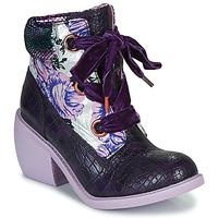 Schuhe Damen Boots Irregular Choice SCARPER Violett