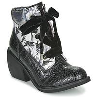 Schuhe Damen Boots Irregular Choice SCARPER Schwarz