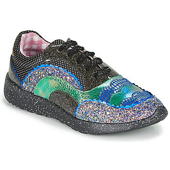 Schuhe Damen Sneaker Low Irregular Choice JIGSAW Schwarz
