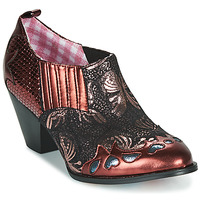 Schuhe Damen Ankle Boots Irregular Choice BARBAROSA Bronze / Rot