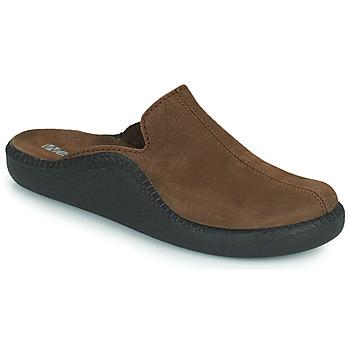 Schuhe Herren Hausschuhe Romika Westland MONACO 202 Braun