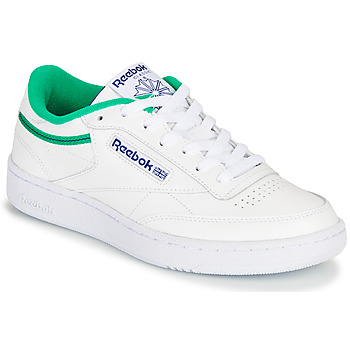 Schuhe Sneaker Low Reebok Classic CLUB C 85 Weiss / Grün