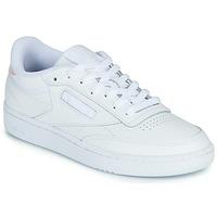 Schuhe Damen Sneaker Low Reebok Classic CLUB C 85 Weiss