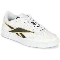 Schuhe Sneaker Low Reebok Classic CLUB C 85 Weiss / Schwarz