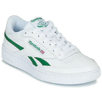 Schuhe Sneaker Low Reebok Classic CLUB C REVENGE MU Weiss / Grün