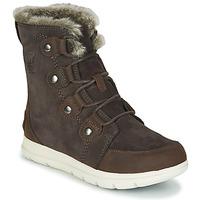 Schuhe Damen Boots Sorel SOREL EXPLORER JOAN Braun