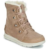 Schuhe Damen Boots Sorel SOREL EXPLORER JOAN Beige