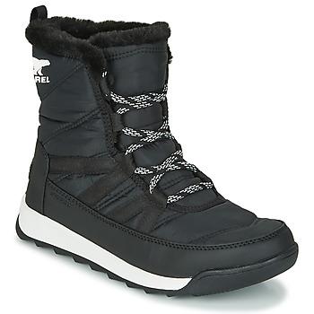 Schuhe Damen Boots Sorel WHITNEY II SHORT LACE Schwarz