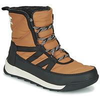 Schuhe Damen Boots Sorel WHITNEY II SHORT LACE Braun