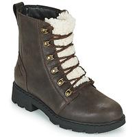 Schuhe Damen Boots Sorel LENNOX LACE COZY Braun