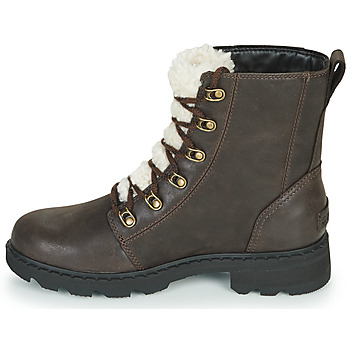 Sorel LENNOX LACE COZY Braun - Kostenloser Versand    - Schuhe Boots Damen 18999